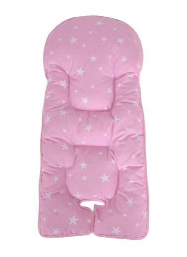 Sevi Bebe Mama Sandalyesi Minderi Pembe